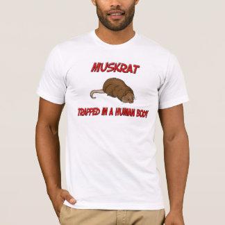 T-shirt Rat musqué emprisonné à un corps humain