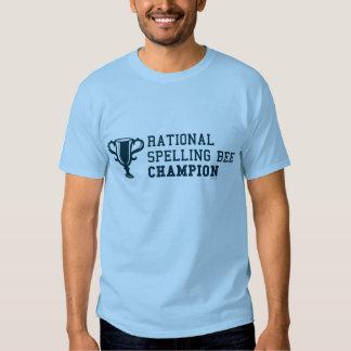 T-shirt rationnel de champion de concours
