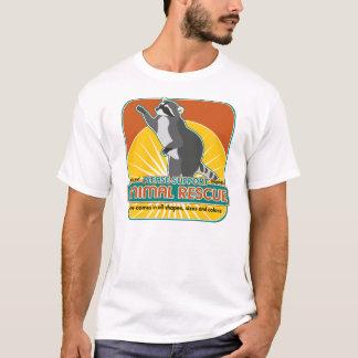 T-shirt Raton laveur animal de délivrance