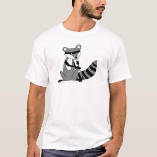 T-shirt Raton laveur jouant le hautbois