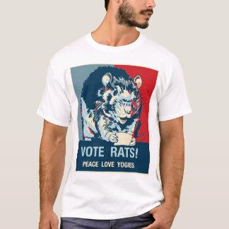 T-shirt Rats de vote ! Chemise