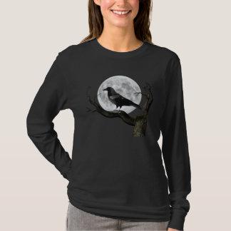 T-shirt Raven mauvais a longtemps gainé le tee - shirt