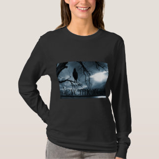T-shirt Raven - plus jamais rayons de soleil et bleu