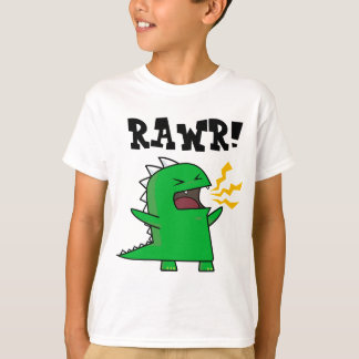 T-shirt RAWR Dino - personnalisable !