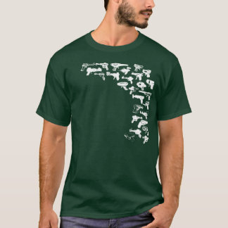 T-shirt Rayguns