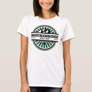 T-shirt Rayon de soleil de montagne de Breckenridge
