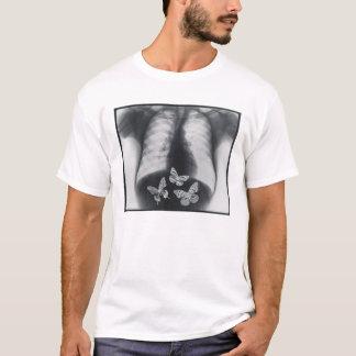 T-shirt Rayon X des papillons dans l'estomac