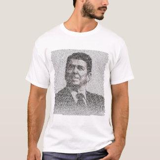 T-shirt Reagan - démolissez ce mur