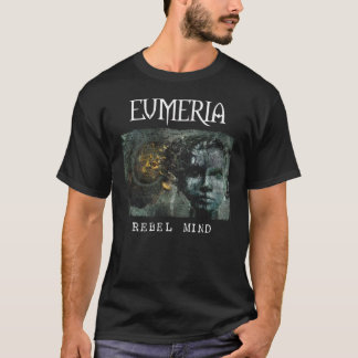 T-shirt rebelle d'esprit d'Eumeria