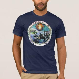 T-shirt Rébellion à la chemise de rébellion de tyrans