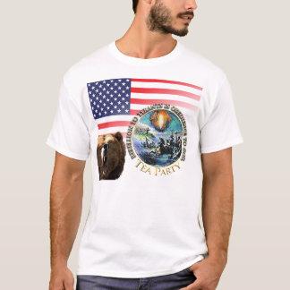 T-shirt Rébellion de thé au tee - shirt de tyrans