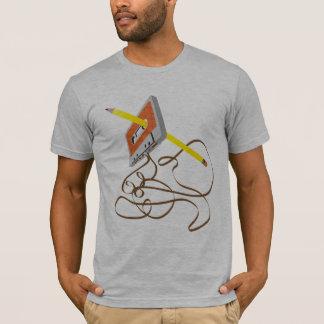 T-shirt rebobinage de bande des années 80 et pièce en t en