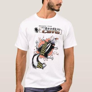 T-shirt Recette d'animal tué sur une route de mouffette