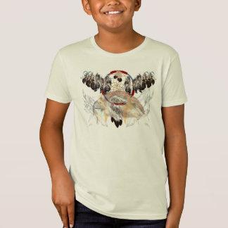 T-Shirt Receveur et plumes et chemises rêveurs de visage