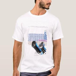 T-shirt Recherche de la Science, image conceptuelle.