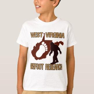T-shirt Recherche occidentale de Virgina Bigfoot
