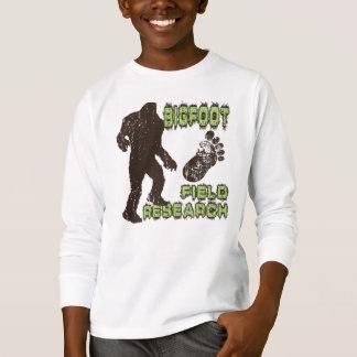 T-shirt Recherche sur le terrain de Bigfoot
