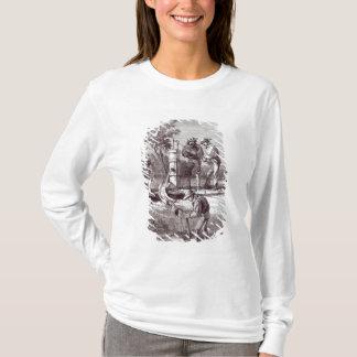 T-shirt réclamation de Rivière-lit sur le Turon