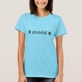 """T-shirt """"reconnaissant"""" de fleur"""