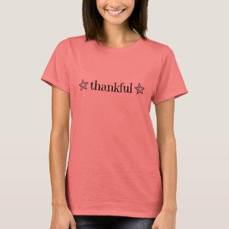 """T-shirt """"reconnaissant"""" d'étoile"""