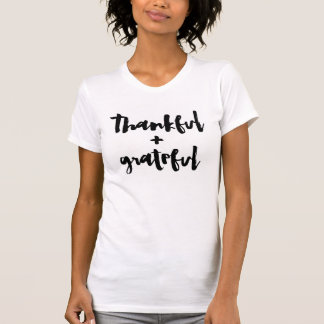 T-shirt Reconnaissant + Reconnaissant