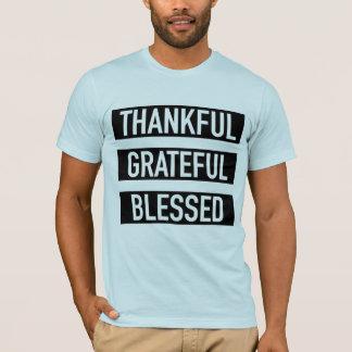 T-shirt Reconnaissant reconnaissant béni