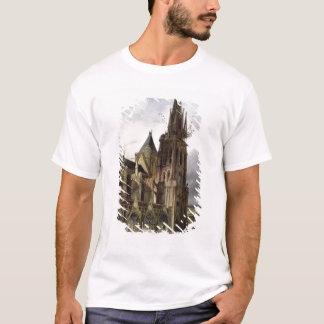 T-shirt Reconstituant l'église d'abbaye de St Denis en