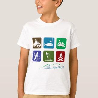 T-shirt Récréation d'étang de Neal