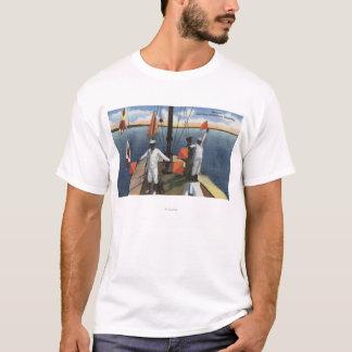 T-shirt Recrues apprenant la signalisation de sémaphore -