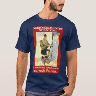 T-shirt Recrutement écossais
