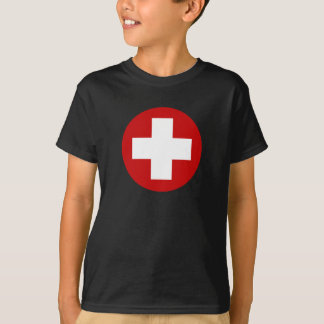 T-shirt Récupération suisse Roundell de secours de