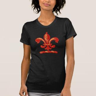 T-shirt Red Fleur De Lis