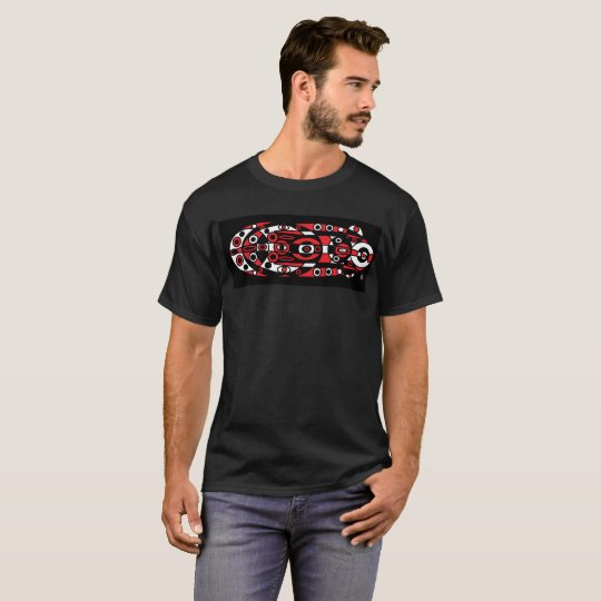 T-shirt red totem