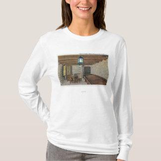 T-shirt Redoute britannique, casernes françaises, poudre