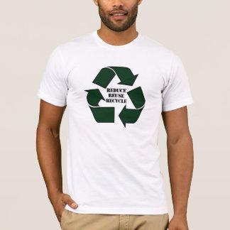 T-shirt Réduisez la réutilisation réutilisent Twofer des