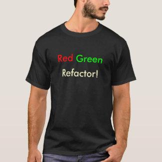 T-shirt Refactor vert rouge !