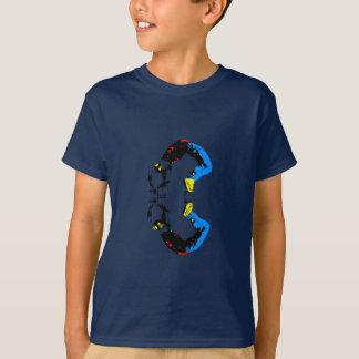 T-shirt Réflexion de danse