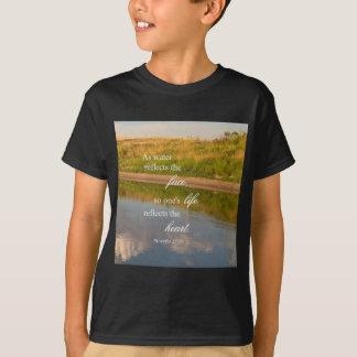 T-shirt Réflexion de l'eau