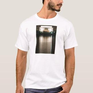 T-shirt Réflexion de nuit du Lincoln Memorial