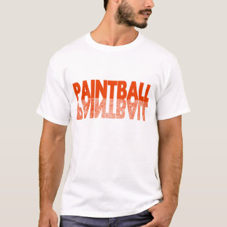 T-shirt Réflexion de Paintball