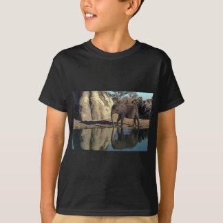 T-shirt réflexions d'éléphant africain