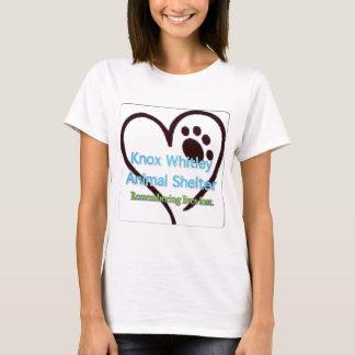 T-shirt Refuge pour animaux de Knox-Whitley se rappelant