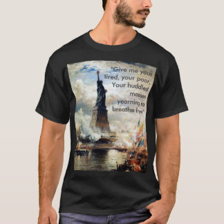 T-shirt Refugees welcome !