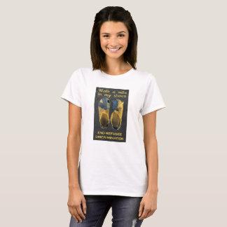 T-shirt Réfugiés de soutien