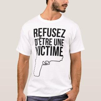 T-shirt Refusez d'être une victime