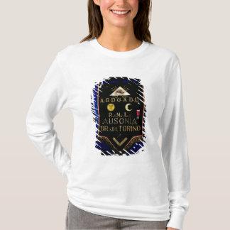 T-shirt Régalia maçonnique, de l'ordre de Turin