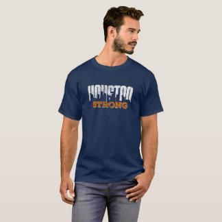 T-shirt Regard affligé fort de Houston