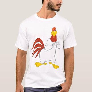 T-shirt Regard fixe malfaisant de la leghorn | de corne de
