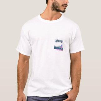 T-shirt Régate de foudre, Charleston, AVANT de Sc/ARRIÈRE