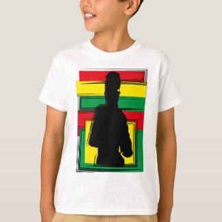 T-shirt Reggae bobo art